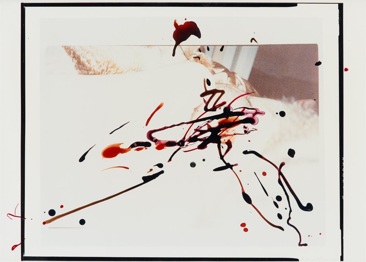 Rebecca Horn. Ohne Titel. 1992. Farbfotografie. Signiert. Eines von 30 Ex.