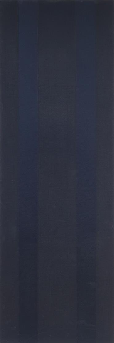 Frank Badur. Ohne Titel. 1978. Öl auf Leinwand, auf Holz. Triptychon.Signiert.