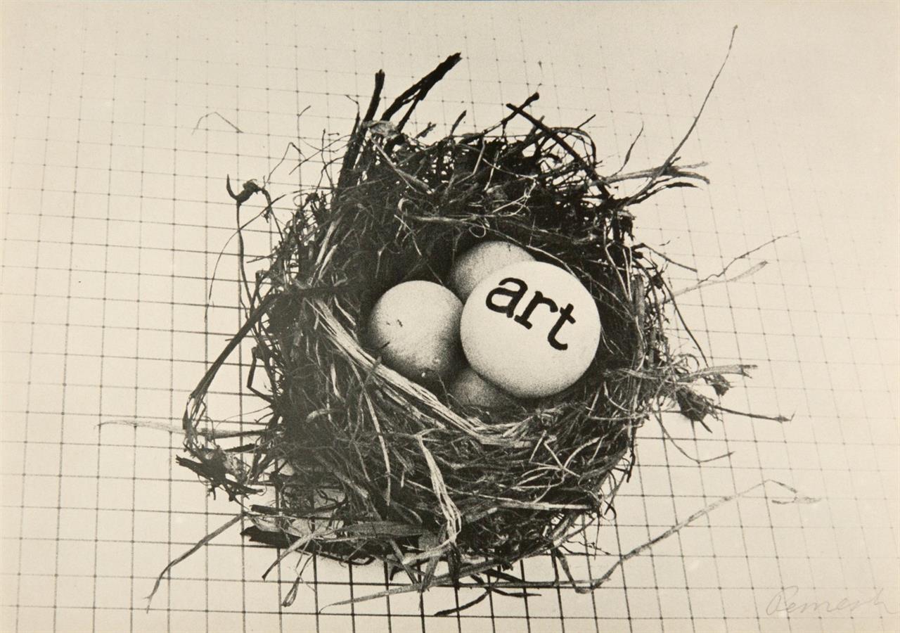 Marksgrafik 1972. Mit 10 OrGraphiken (von Beuys, Buthe, Bremer u.a.). Signiert. Ex. 177/1000.