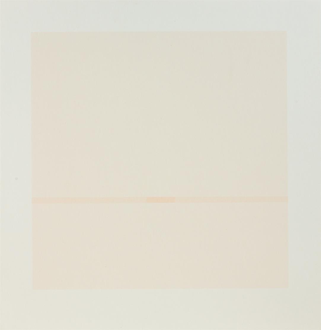 Antonio Calderara. Ohne Titel. 1966, 1972, 1975. 3 Blatt Farbserigraphien. Signiert bzw. monogrammiert. Ex. 16/50, 55/100 bzw. 56/125.