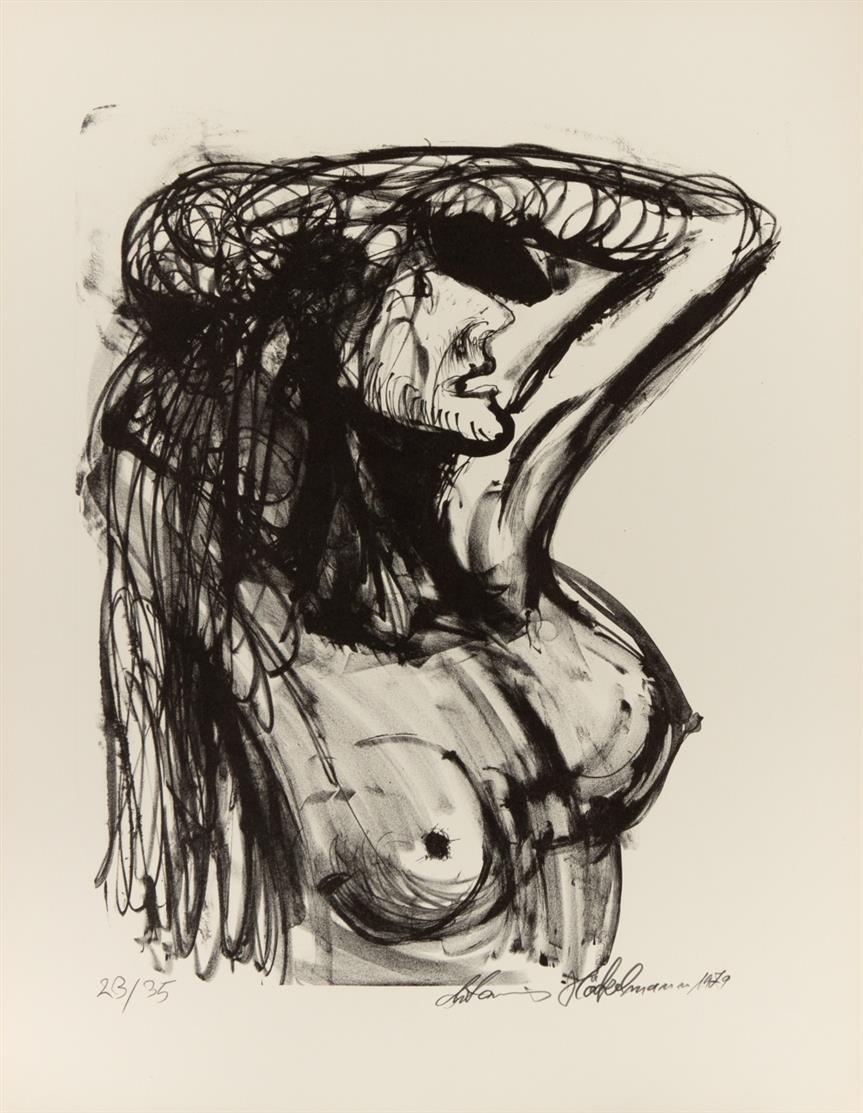 Antonius Höckelmann. Alexandra. 1979. 5 Blatt Lithographien. Ex.  23/35.