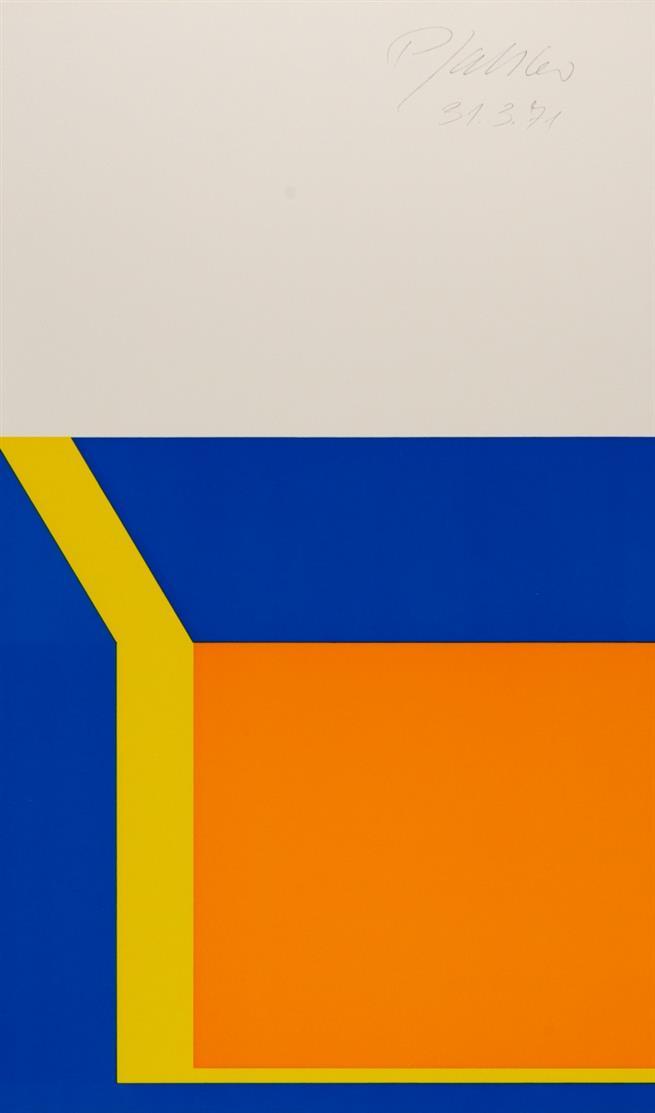 Lenk / Mack / Pfahler / Uecker. XXXV Biennale di Venezia. Padiglione tedesco. 1970. Mit 4 sign. OrGraphiken.