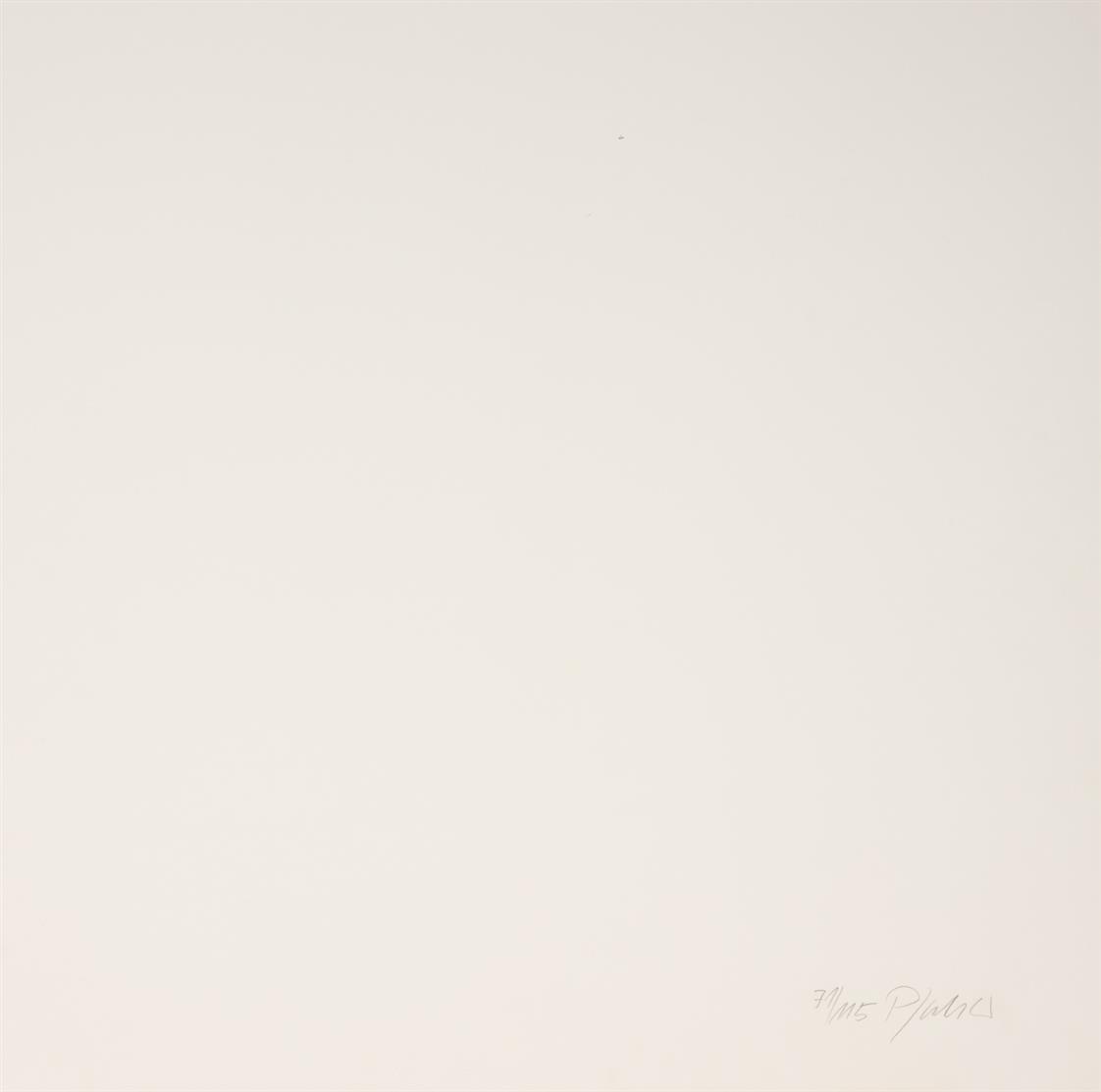 Georg Karl Pfahler. Ohne Titel. 3 Blatt Farbserigraphien. Jeweils signiert. Ex. 71/115, 41/100 bzw. 115/200.