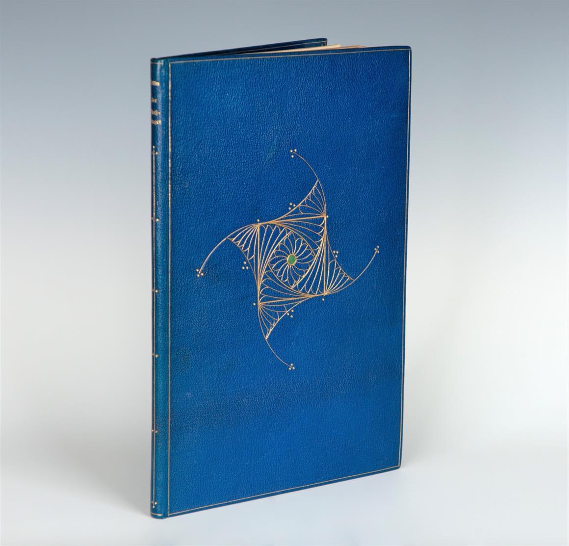 Paul Kersten. Blauer verg. Saffian-Franzband. Inhalt: E. Collin, Der Pressbengel. Bln. 1922. - 1000 Ex.