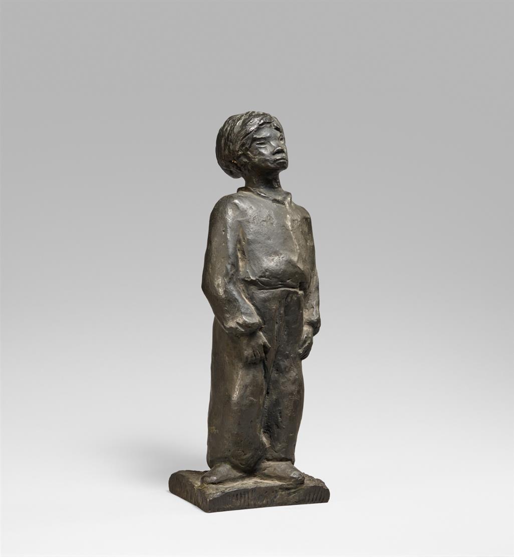 Otto Pankok. Herteli. 1932. Bronze. Monogrammiert. Zimmermann 42.