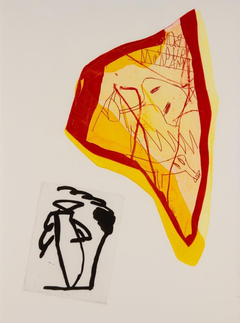 J. Voss / H. Gauville, Duo. Marseille 1989. - Ex. 30/50.