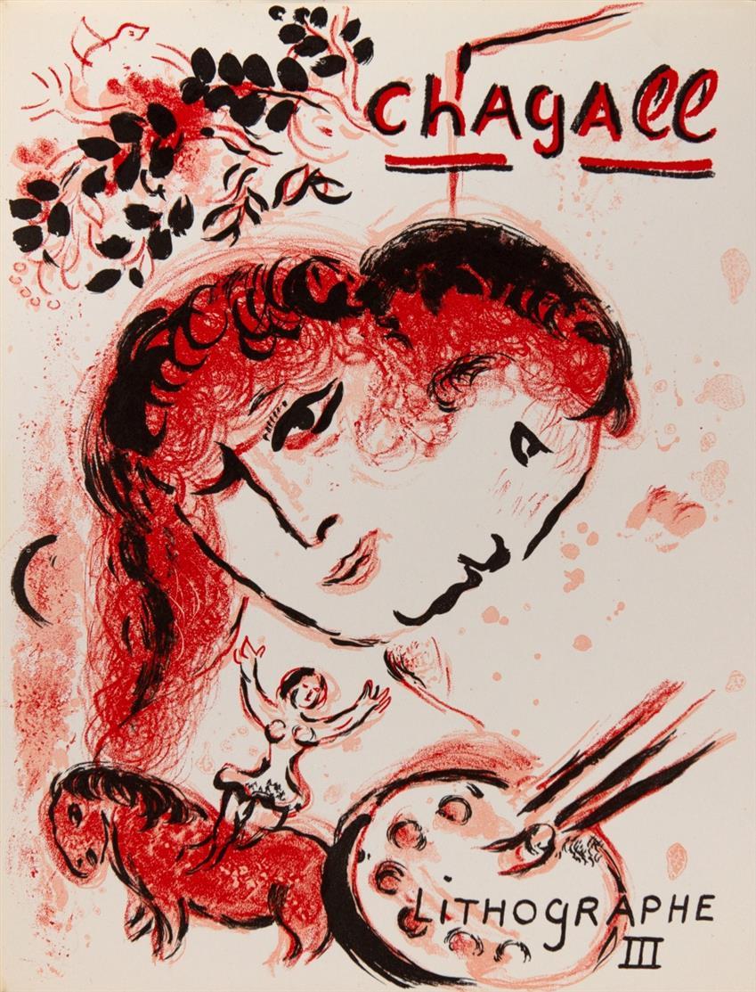 J. Cain u. C. Sorlier, Chagall Lithograph III-IV (dt. Ausg.). 2 Bde. Monte Carlo 1969-1974.