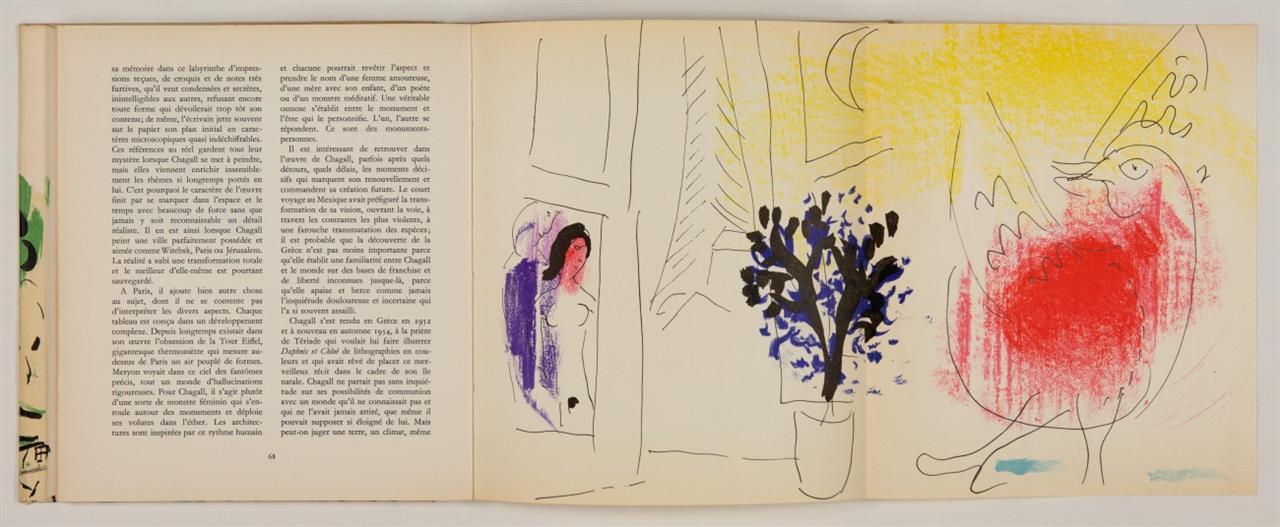 M. Chagall / J. Lassaigne, Chagall. Paris 1957.