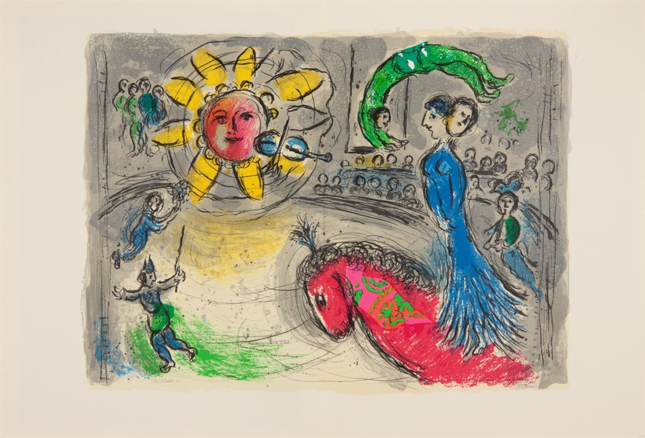 M. Chagall, Derrière le miroir. N° 235 in VA und N° 225. Paris 1977/1979 -  2 Hefte.