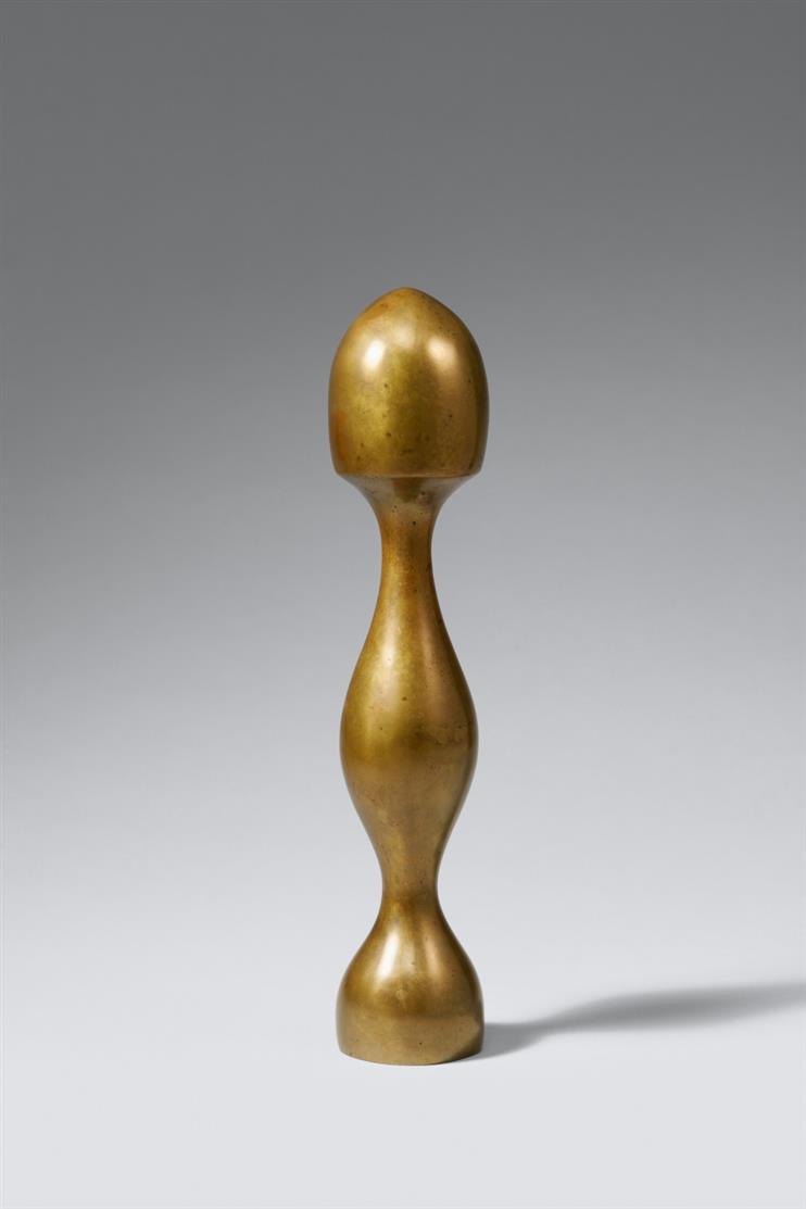 Hans Arp. Flamme-Toupie. 1964. Skulptur. Bronze. Ex. 2/5. + Fotozertifikat.