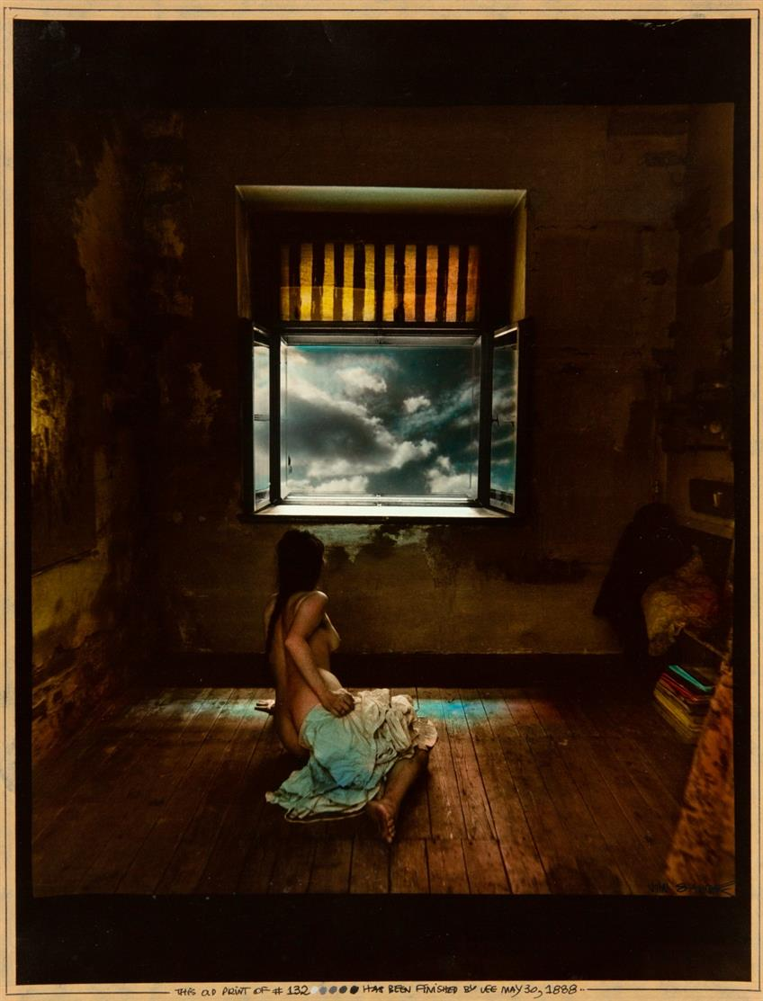 Jan Saudek. The New Dawn. (1988). Farbfotografie.