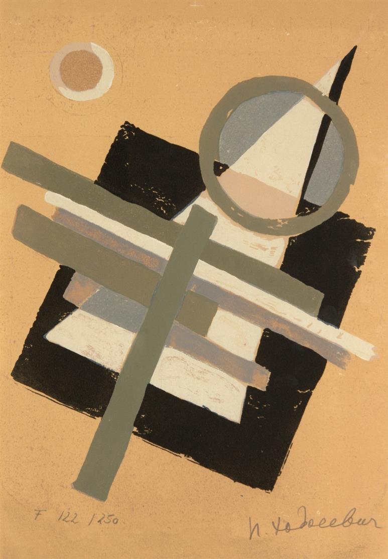 N. Khodossievitch-Léger/ Ch. Cwiklitzer, Suprematisme. Paris 1972. - Ex. F. 122/250.