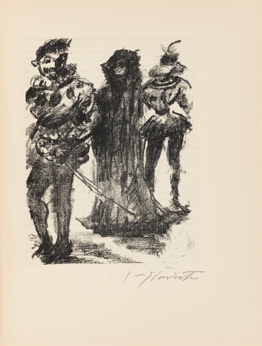 Bonaventura (d.i. A. Klingemann) / L. Corinth, Die Nachtwachen. Berlin 1925.