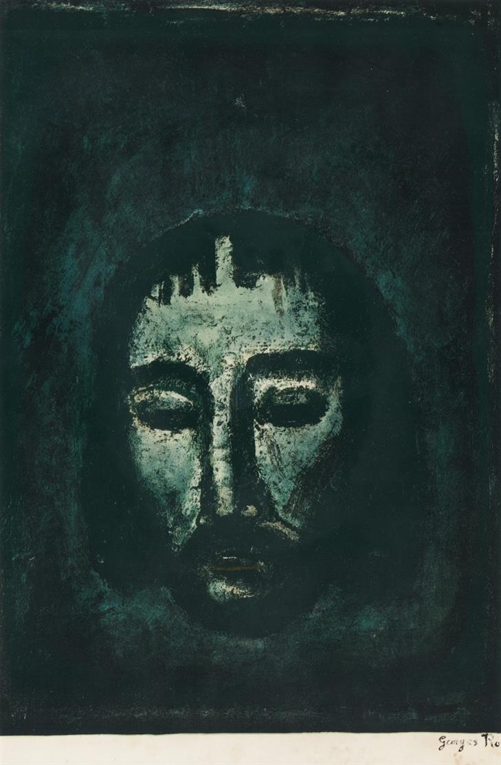 Georges Rouault. Saint Suaire. 1922-27. Farblithographie.