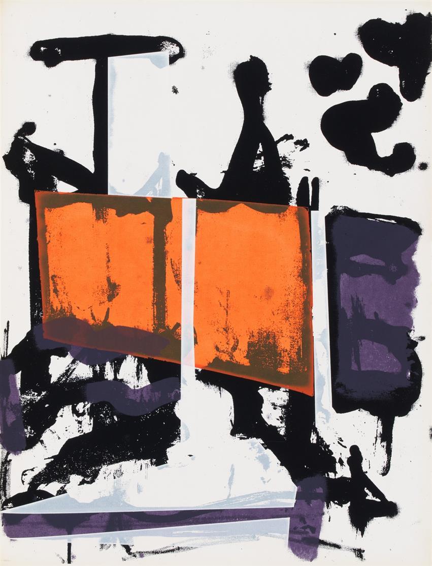 Abstract Expressionism. Set von 4 Werken der Tiber Press, New York (1960).
