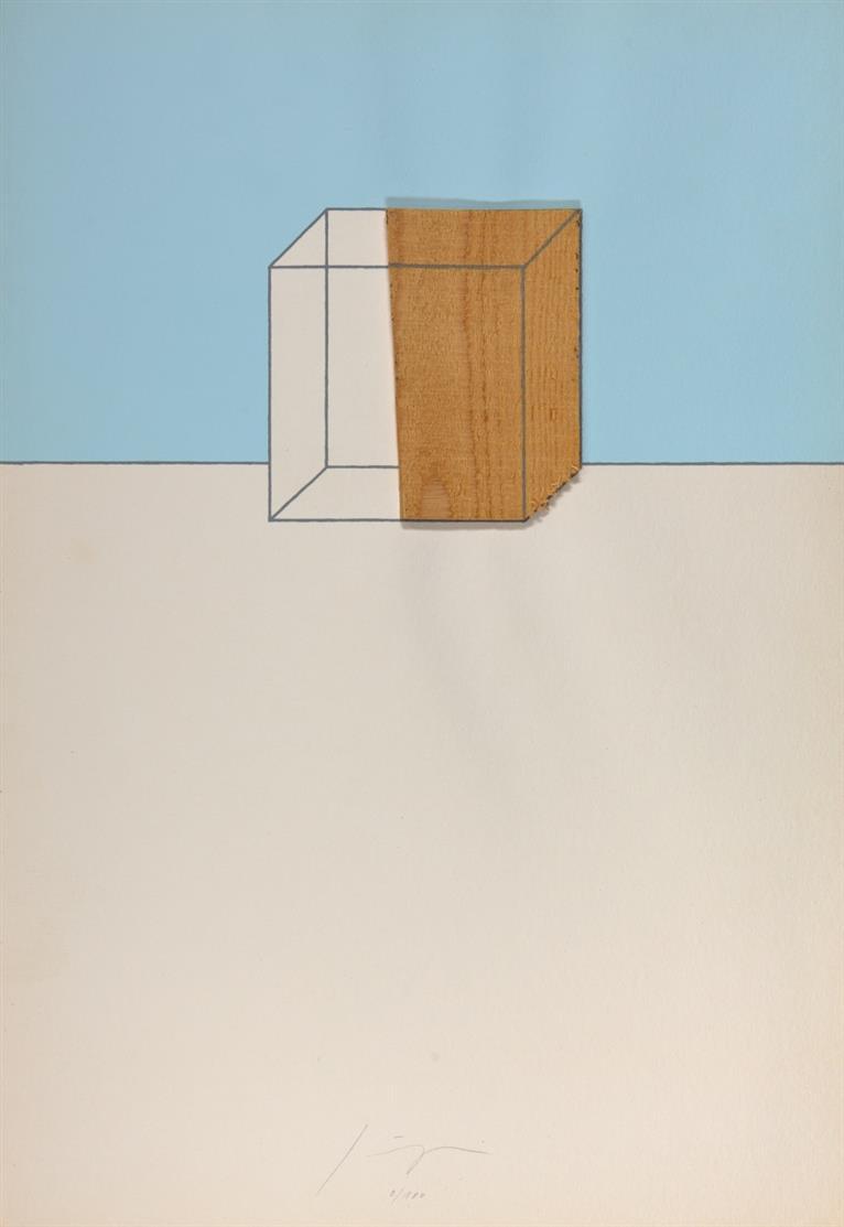 Kölner Kunstmarkt 1972. Mappe mit 7 (von 8, ohne A. Tàpies) OrGraphiken. Je signiert. Ex. 9/180.