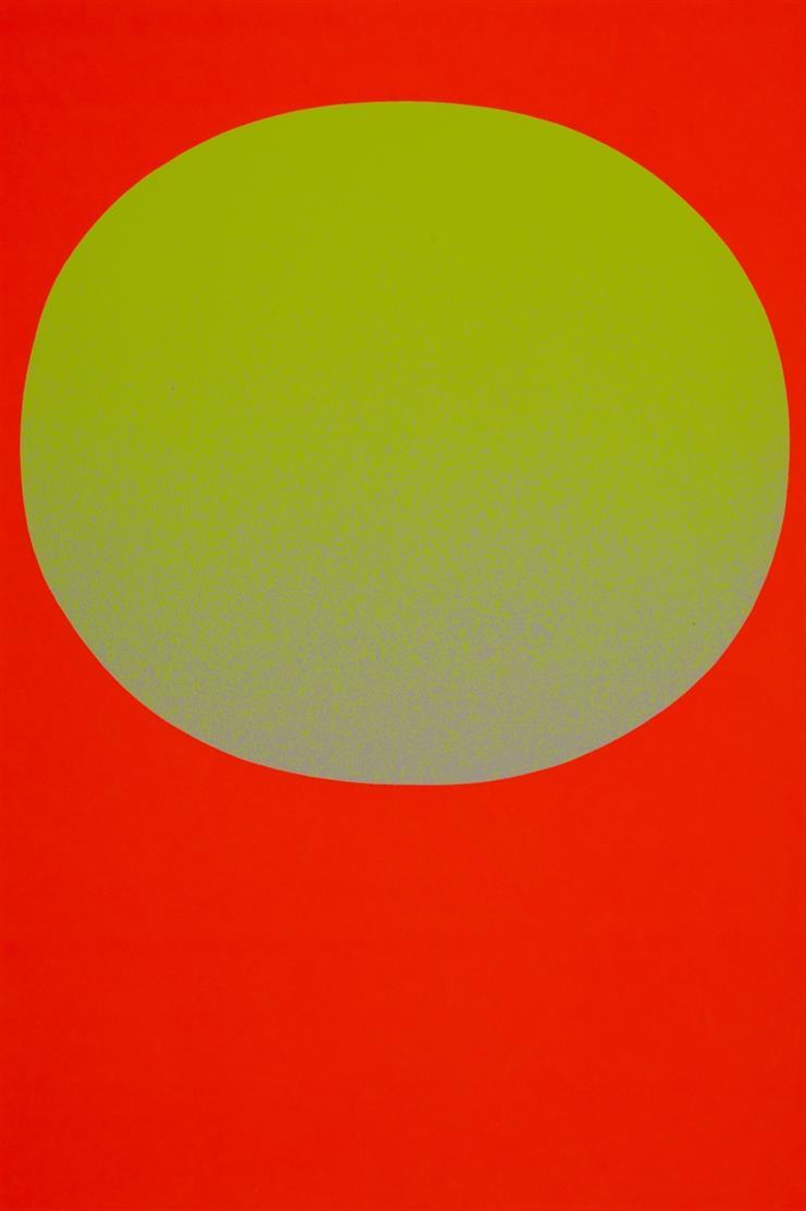 Rupprecht Geiger. Modulation. 1969. Mappe mit 10 Farbserigraphien. Impressum signiert. Ex. 49/350.