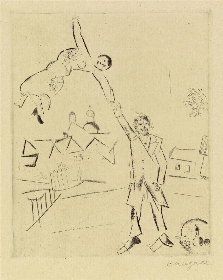 Aus: Bauhaus-Drucke. Vierte Mappe (italienische und russische Künstler). 1921. 10 (von 11)  Blatt Druckgraphiken der Folge. Söhn HDO 104 Nr. 1-7 und 9-11.