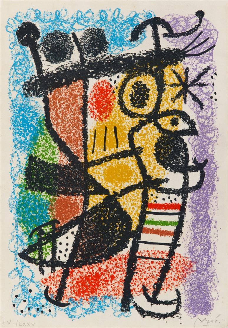 Joan Miró. Aus: Ausstellungskatalog