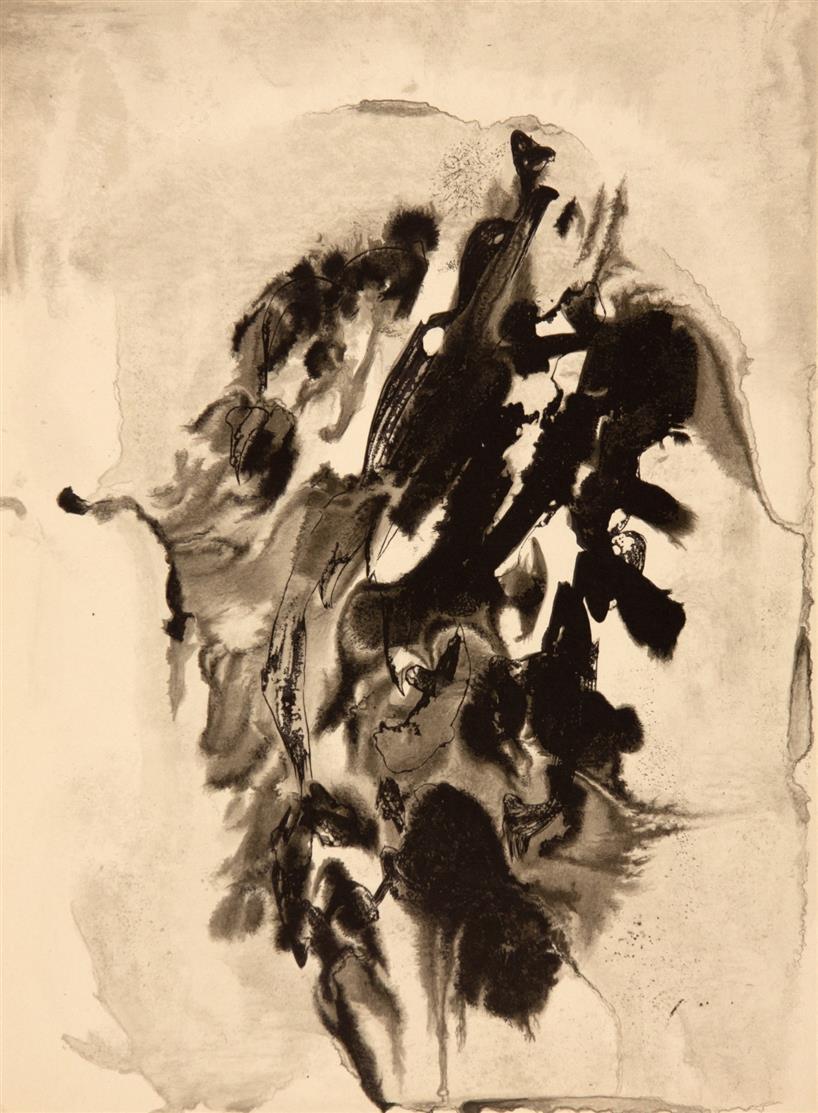 Derrière le miroir - François Fiedler (N° 129). Paris 1961. - Ex. 30/150.