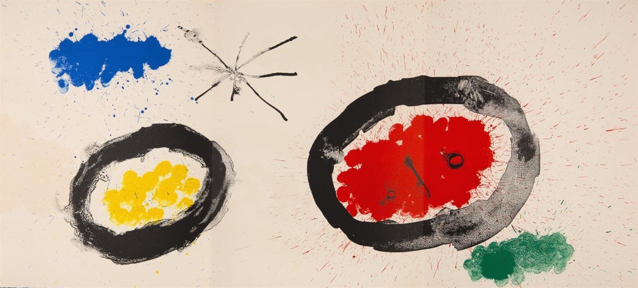 Derrière le miroir. - Joan Miró. (N° 128). Paris 1961. - Ex. 100/150.