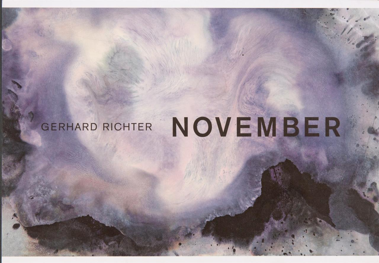G. Richter, November. London 2013. - Ex. 692/800.