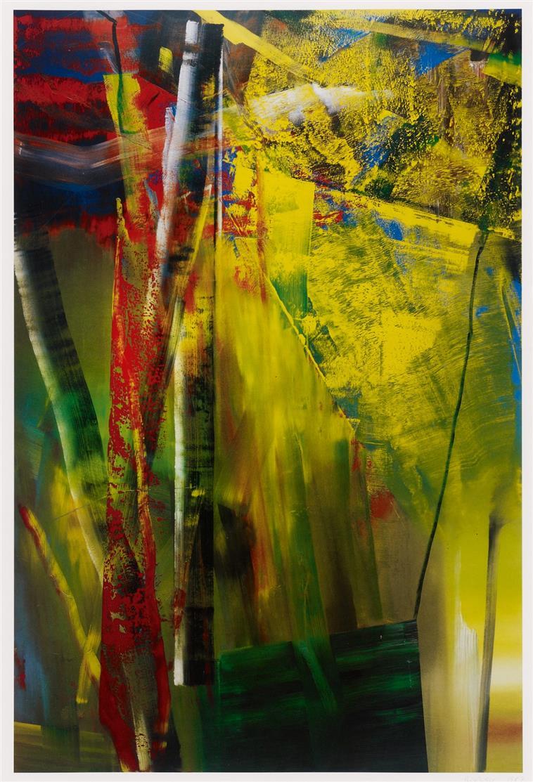 Gerhard Richter. Victoria I. 1986. Farboffset. Signiert. Butin S.283.